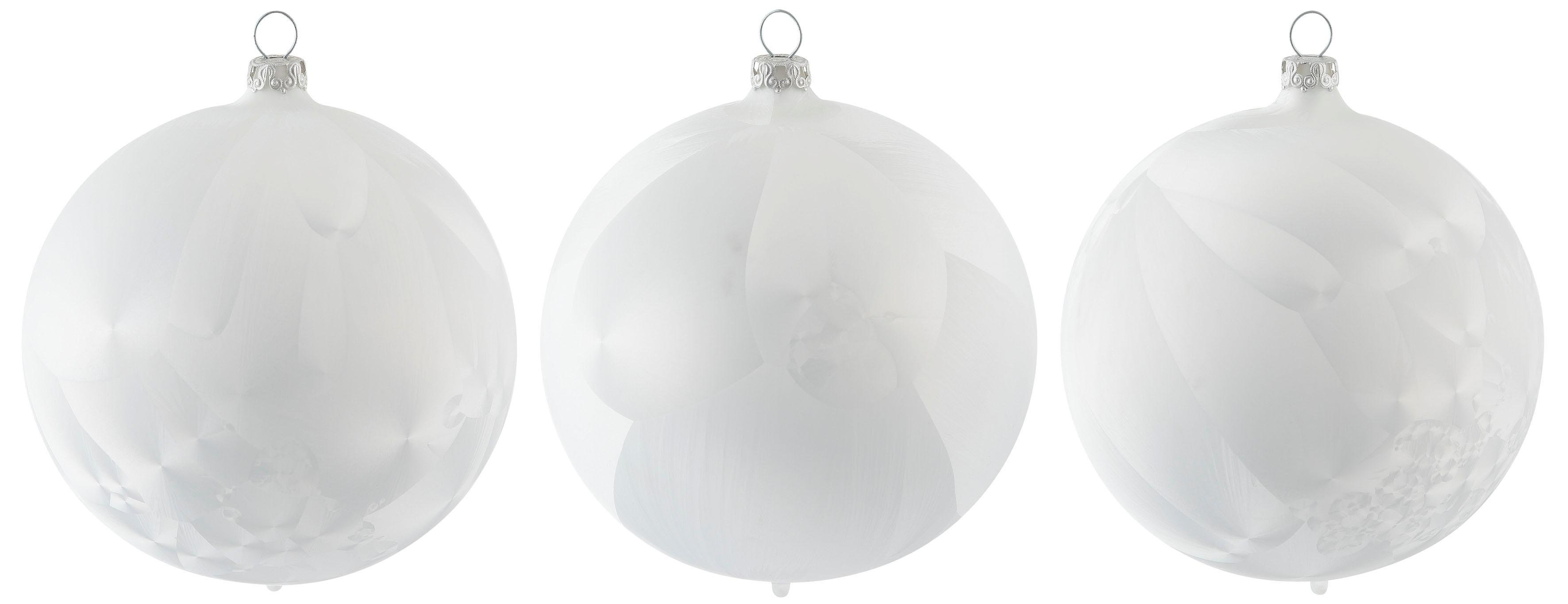 Thüringer Glasdesign kerstbal Lykka mondgeblazen, ø 10 cm (set, 3 stuks) goedkoop op otto.nl kopen