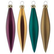 thueringer glasdesign kerstversiering multicolor
