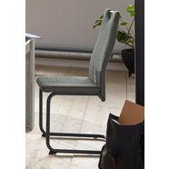 vrijdragende stoel »lea s« (set van 2 of 4) grijs