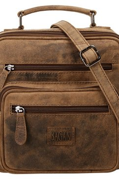 bagan schoudertas bruin