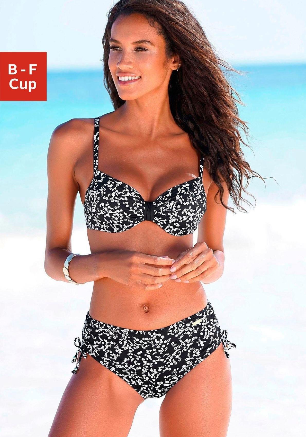 Lascana bikinitop met beugels Weide in de webshop van OTTO kopen