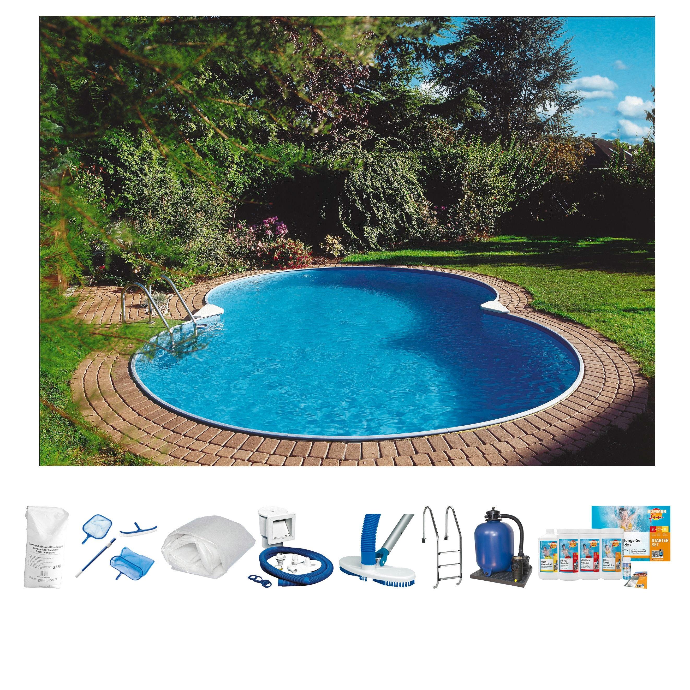 Clear Pool set: Achtvormig zwembad »Premium Mallorca« online kopen op otto.nl