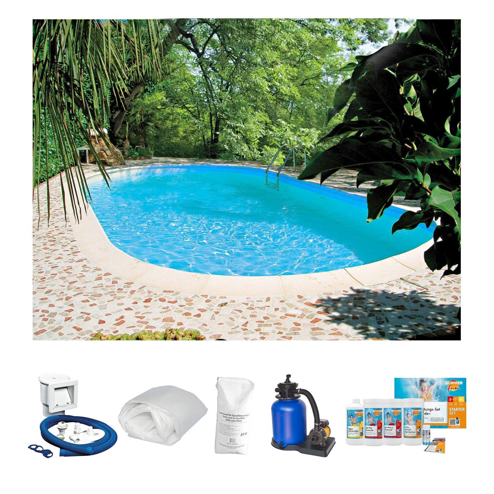 Summer Fun CLEAR POOL Ovaal zwembad veilig op otto.nl kopen