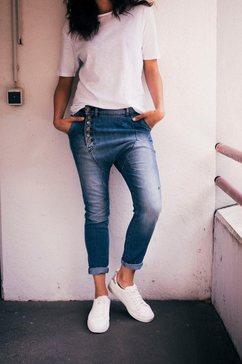imp by imperial boyfriend jeans »imp-contour« blauw