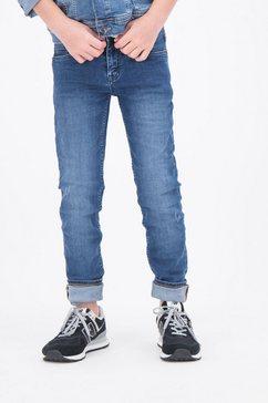 slim fit jeans van garcia blauw