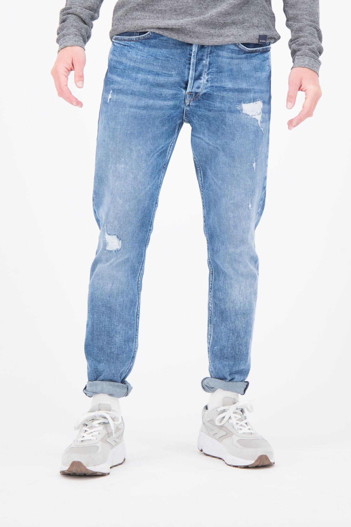 Garcia tapered jeans Met relaxed fit nu online kopen bij OTTO
