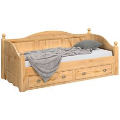 home affaire futonbed »teo« beige
