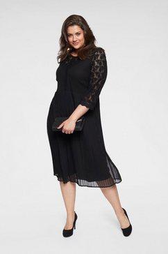 junarose kanten jurk zwart