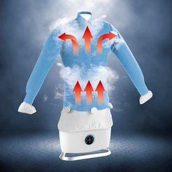 cleanmaxx »mit dampffunktion« strijksysteem wit