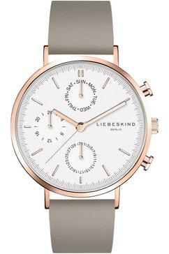 liebeskind berlin multifunctioneel horloge »lt-0196-lm« grijs