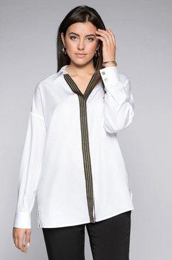 sheego lange blouse wit