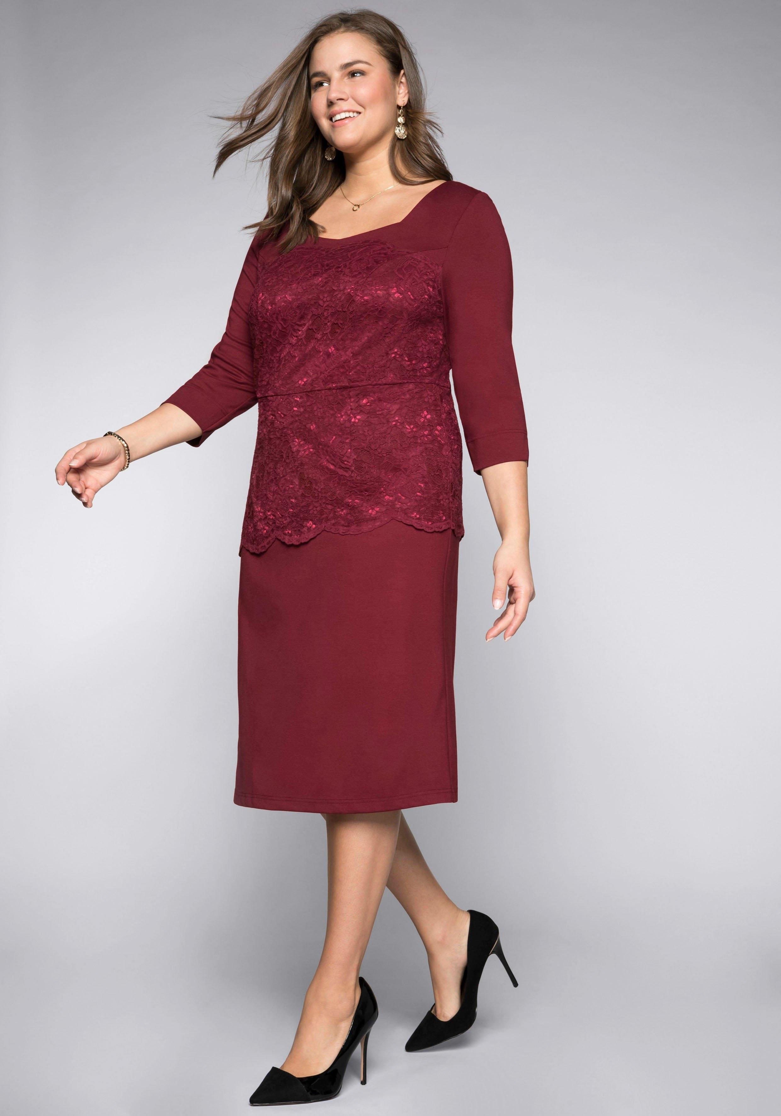 Sheego party-jurk in de webshop van OTTO kopen