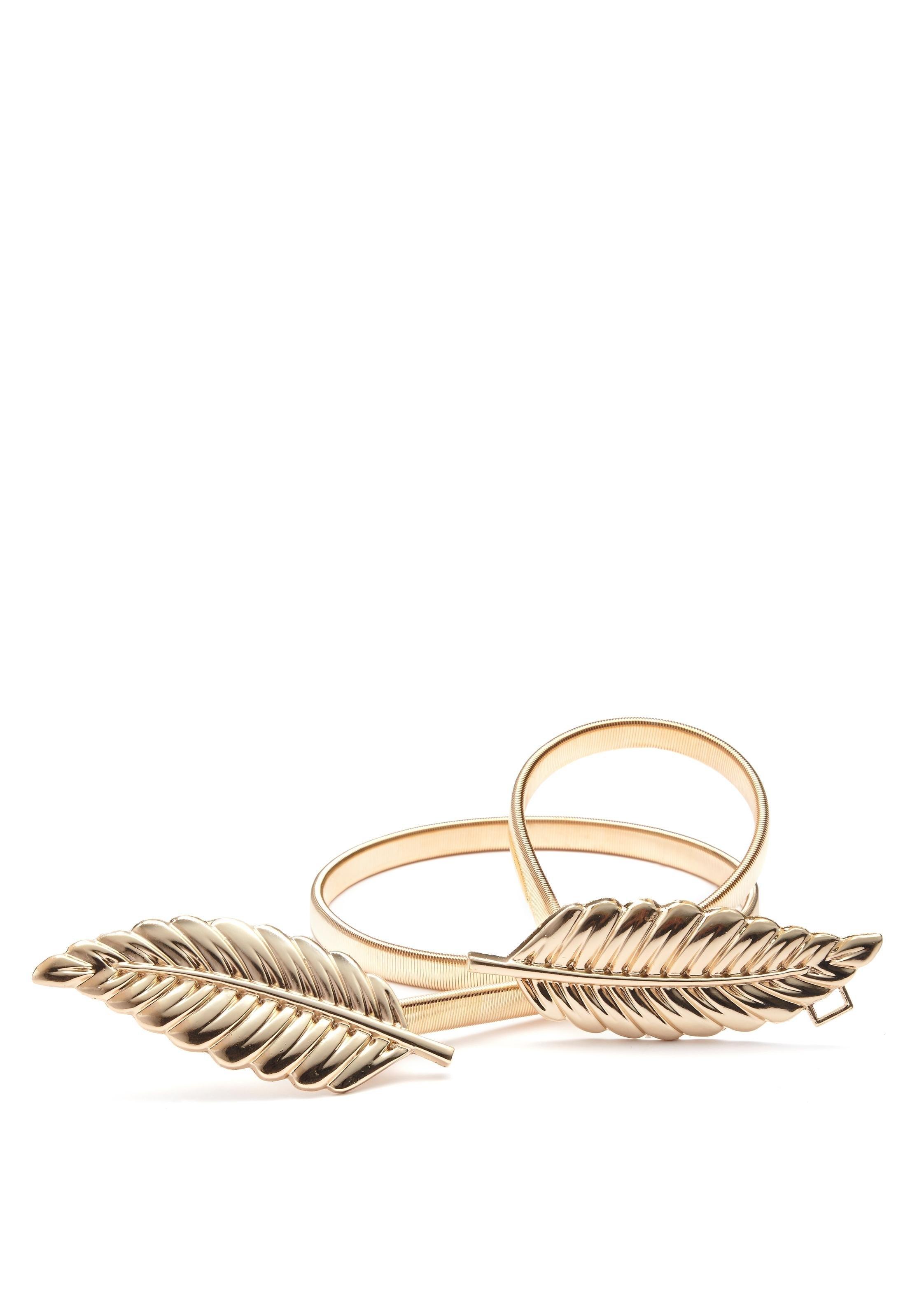 Lascana Tailleceintuur met moderne veergesp en elastische band voordelig en veilig online kopen