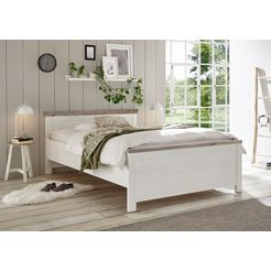 home affaire bed »florenz« wit