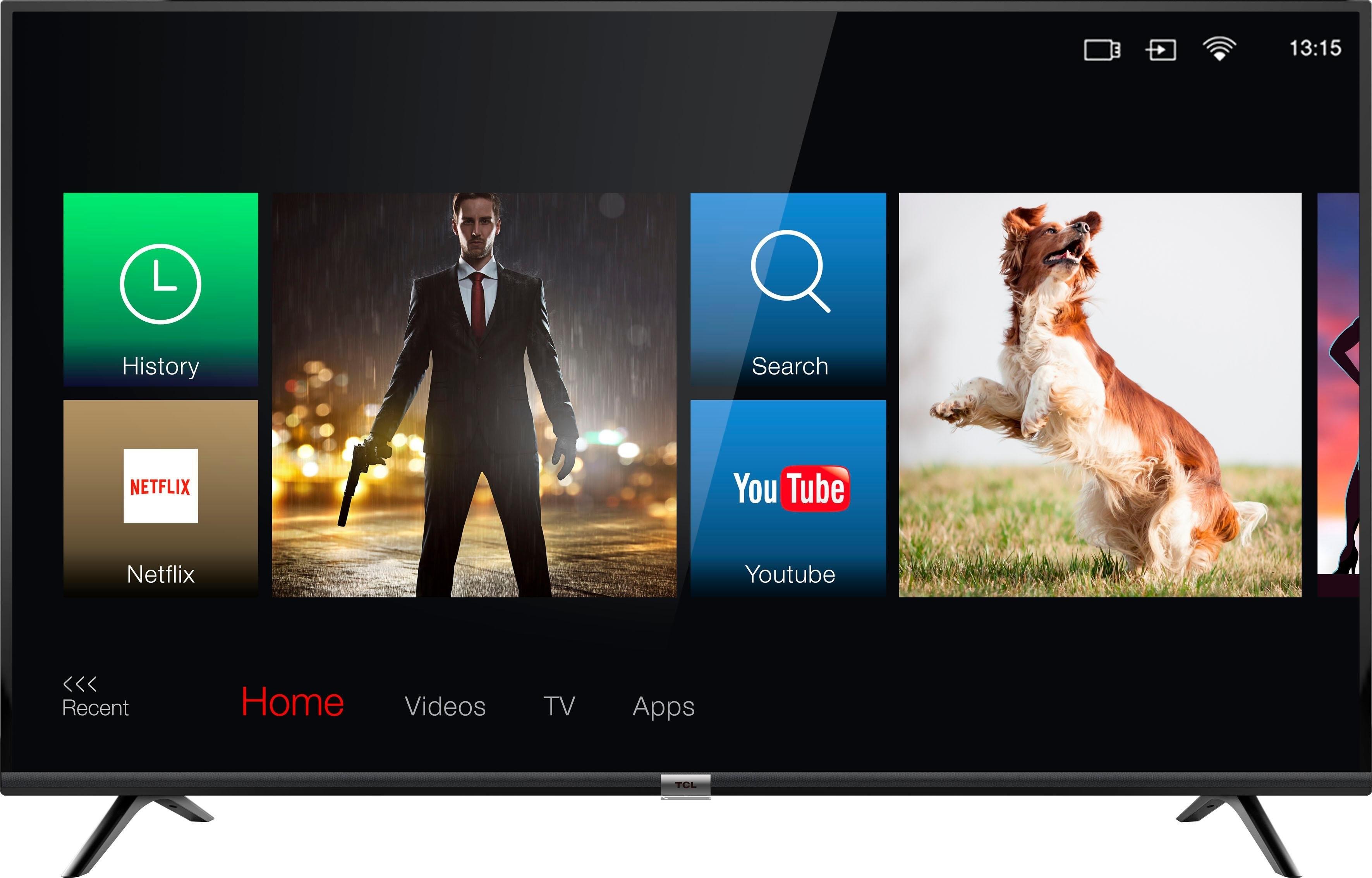 Tcl 55DB600 led-tv (139,7 cm / 55 inch), 4K Ultra HD, smart-tv - gratis ruilen op otto.nl