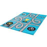vloerkleed voor de kinderkamer, »bambino 2115«, sanat teppiche, rechthoekig, hoogte 12 mm blauw