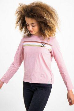 garcia shirt met lange mouwen roze