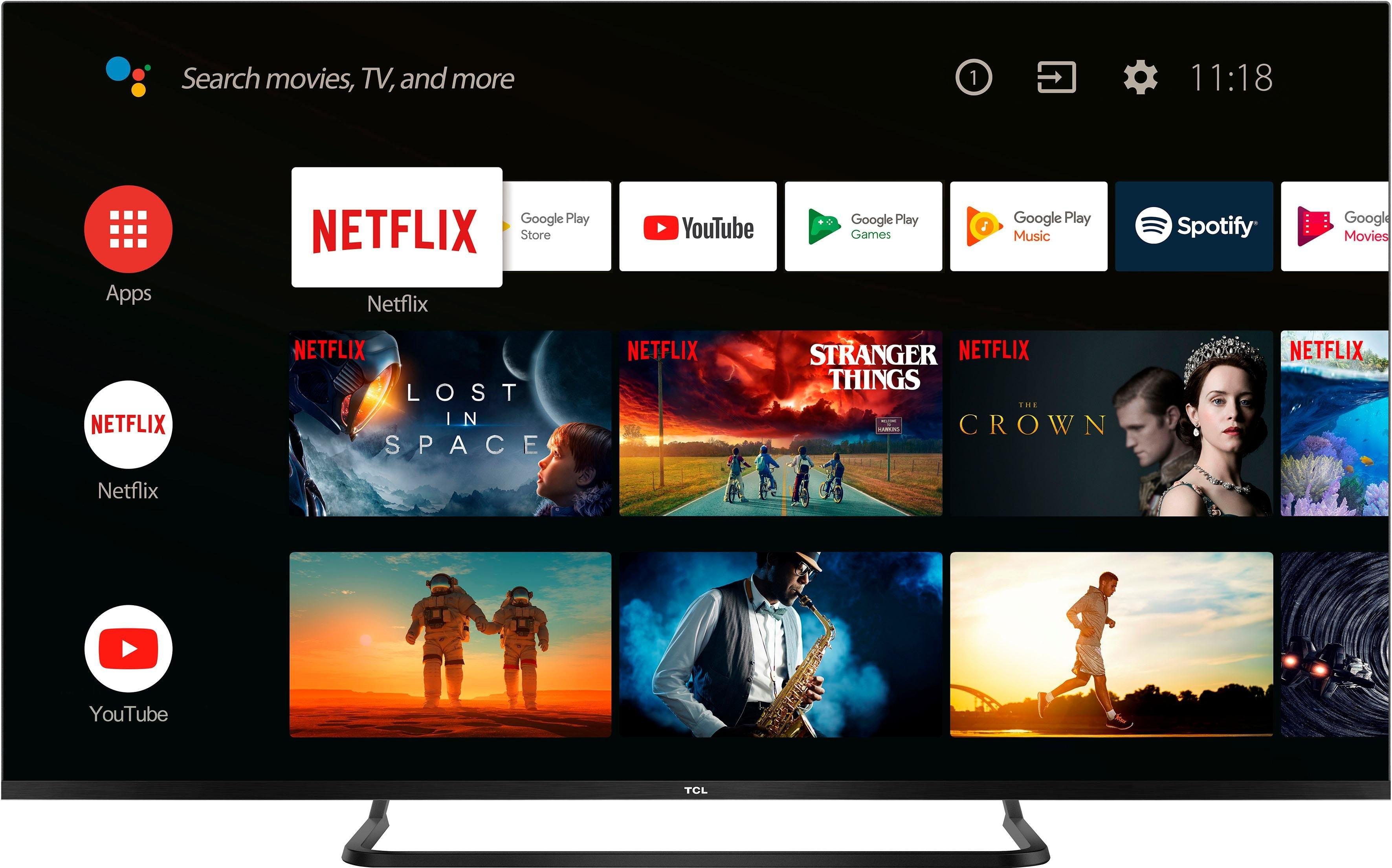 Tcl 50EP680 led-tv (126 cm / 50 inch), 4K Ultra HD, smart-tv - gratis ruilen op otto.nl