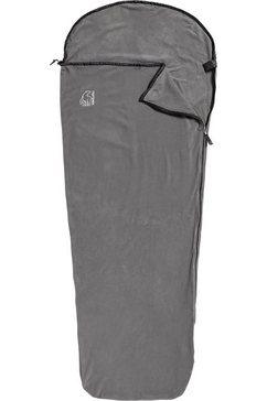 nordisk slaapzak-overtrek »fleece liner mummy«, (1-delig) grijs