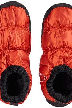 nordisk outdoorschoenen mos down shoes oranje