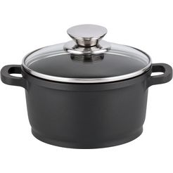 elo kookpan alucast inductie (1-delig) zwart