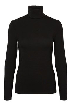 vero moda colshirt »ava lulu« zwart