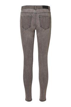 vero moda skinny fit jeans »tanya« grijs