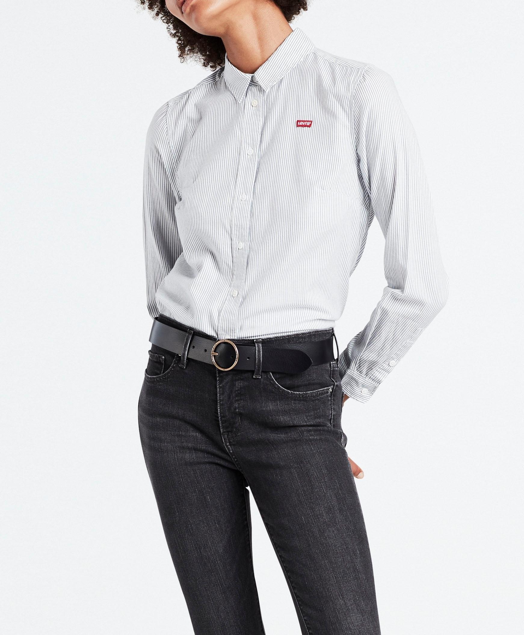 Levi's klassieke blouse Ultimate Shirt met klein batwing-logo - verschillende betaalmethodes