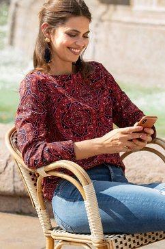 laura scott blouse zonder sluiting rood