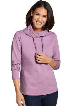 classic basics sweatshirt van puur katoen roze