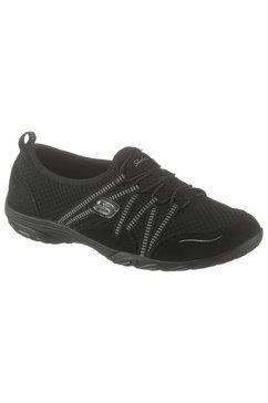 skechers slip-on sneakers »empress - move mountains« zwart