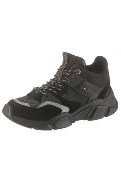 tommy hilfiger sneakers met sleehak »wmn billy 5c« zwart