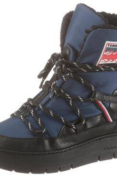 tommy hilfiger snowboots »donna 1c1« blauw