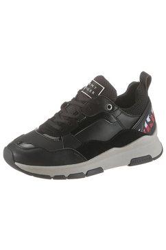 tommy hilfiger sneakers met sleehak »fiona 8c2« zwart
