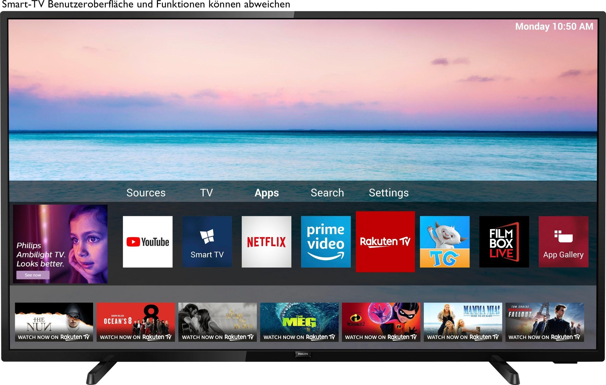 Philips 70PUS6504/12 led-tv (178 cm / 70 inch), 4K Ultra HD, smart-tv online kopen op otto.nl