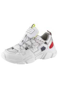 tommy hilfiger sneakers met sleehak »wmns billy 6c« wit