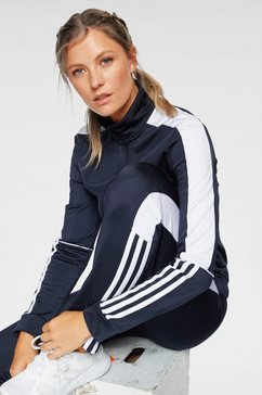 adidas performance trainingspak »osr w pes 3 stripes tracksuit« blauw