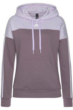 adidas performance hoodie paars