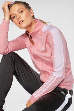 adidas performance trainingspak »osr w pes 3 stripes tracksuit« rosa