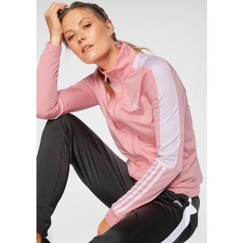 adidas performance trainingspak roze-zwart