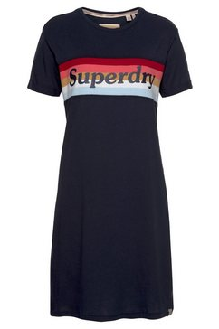 superdry jerseyjurk »austin tshirt dress« blauw