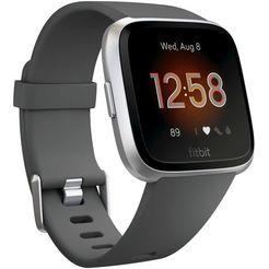 fitbit versa lite smartwatch (3,4 cm) grijs