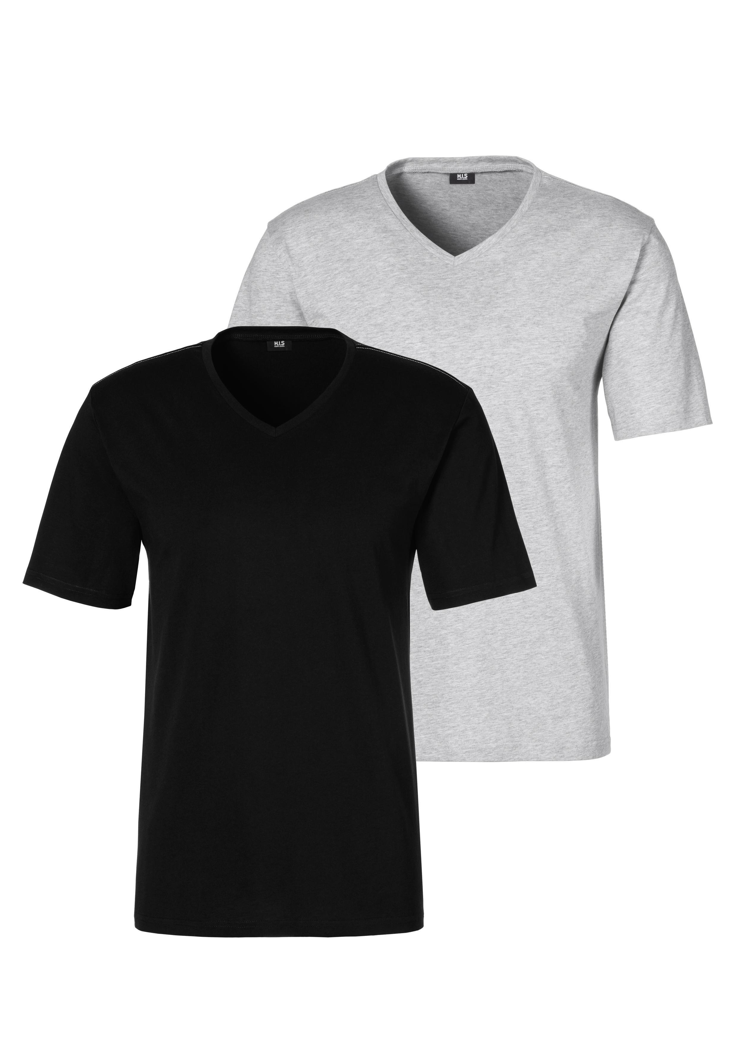 H.I.S shirt met V-hals in de webshop van OTTO kopen