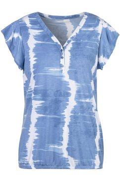 vivance t-shirt blauw