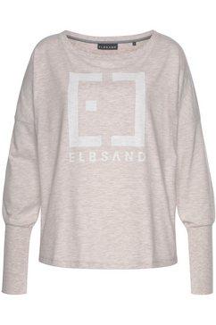 elbsand shirt met lange mouwen »ingra« beige