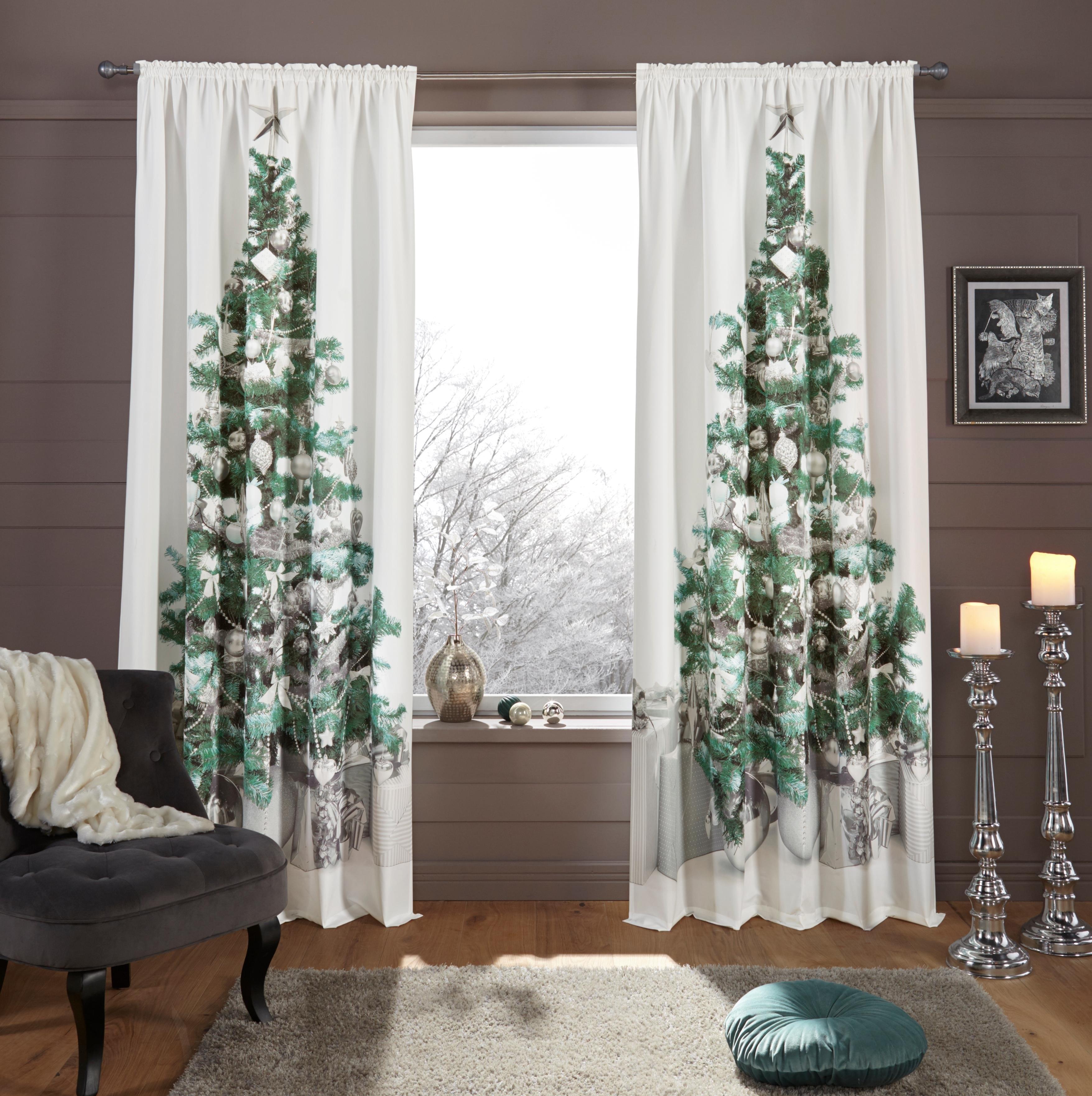 Op zoek naar een my home Gordijn, »Dennenboom«, roedezoom, per stuk? Koop online bij OTTO