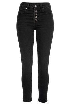 buffalo high-waist jeans zwart