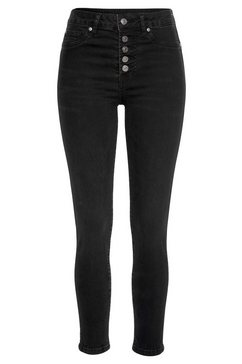 buffalo highwaist-jeans zwart
