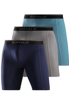 buffalo lange boxer in set van 3 multicolor