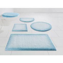 badmat »heaven«, kleine wolke exklusiv, hoogte 25 mm, met antislip-coating blauw
